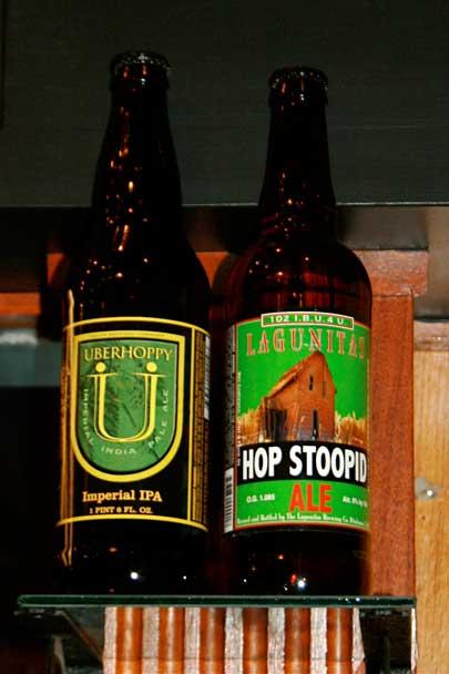 Uberhoppy and Lagunitas Hop Stoopid