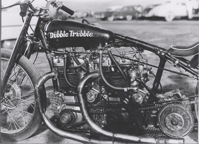 Dubble Trubble Motorcycle